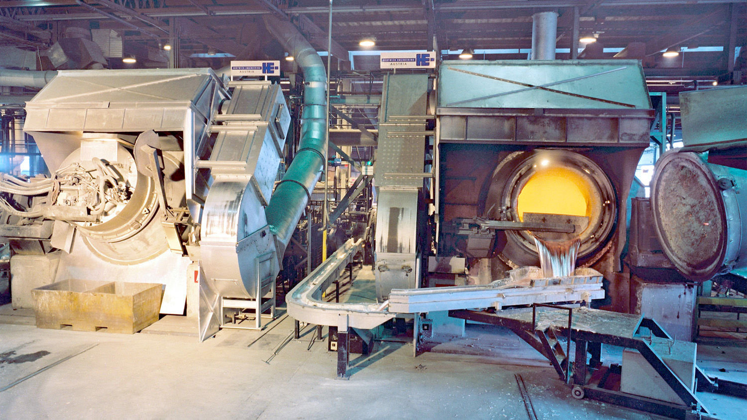 Universal Rotary Tilting Furnace